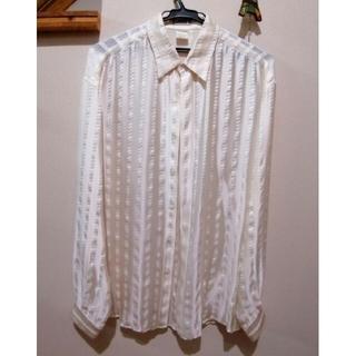 ジャンニヴェルサーチ(Gianni Versace)のヴェルサーチ シルク ドレスシャツ(シャツ)