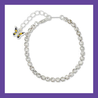 ピースマイナスワン(PEACEMINUSONE)のSTUGAZI SHINee SilverButterfly bracelet (ブレスレット)