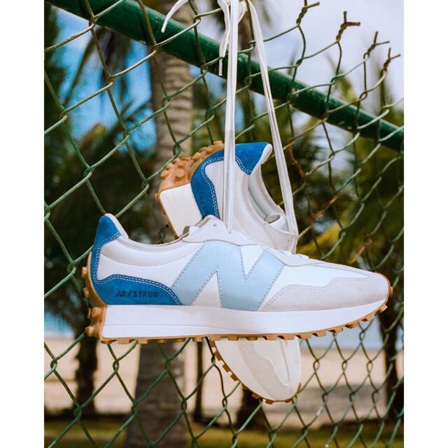 New Balance(ニューバランス)の⭐︎希少コラボ⭐︎ 25cm STAUD × New Balance 327  レディースの靴/シューズ(スニーカー)の商品写真