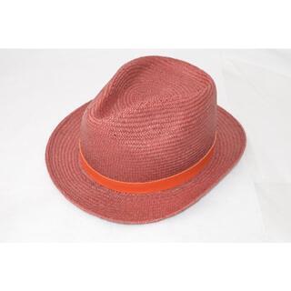 ポールスミス(Paul Smith)の新品☆Paul Smith ブレードハット 麦わら帽子☆レッド&オレンジ(ハット)