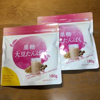 タイショウセイヤク(大正製薬)の大正製薬 黒糖大豆たんぱく 180g×2袋(プロテイン)