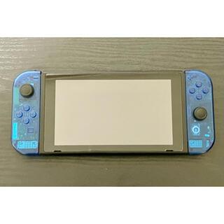 ニンテンドースイッチ(Nintendo Switch)のswitch 任天堂 本体 スケルトンブルー(家庭用ゲーム機本体)