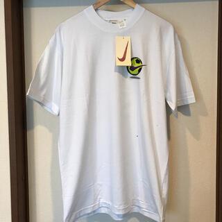 ナイキ(NIKE)のタグ付き新品 デッドストック 90s 銀タグ NIKE tシャツ L(Tシャツ/カットソー(半袖/袖なし))