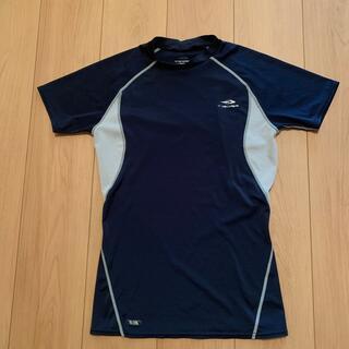 ティゴラ(TIGORA)のTIGORA トレーニングシャツ メンズM 紺(ウェア)