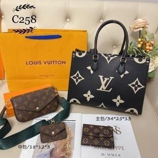 ルイヴィトン(LOUIS VUITTON)の☆美品☆ louis vuItton トートバッグ3点セット(ランチボックス巾着)