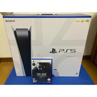 ソニー(SONY)のSONY PlayStation5 バイオハザードVillageセット(家庭用ゲーム機本体)