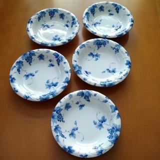 タチキチ(たち吉)のAdam&Eve アダムとイブ フルーツ皿 5枚セット たち吉(食器)