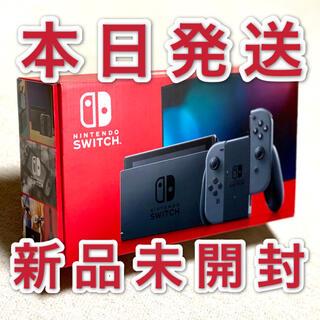 ニンテンドースイッチ(Nintendo Switch)のスイッチ 本体 Switch ニンテンドー グレー(家庭用ゲーム機本体)