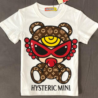 HYSTERIC MINI - Hysteric Mini ヒスミニ  テディベア Tシャツ90cm ホワイト