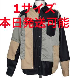 sacai - SACAI Fabric Combo Shirt Sサイズ