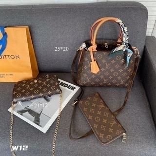 ルイヴィトン(LOUIS VUITTON)の☆美品☆louis vuItton ショルダーバッグ 3点セット(ランチボックス巾着)