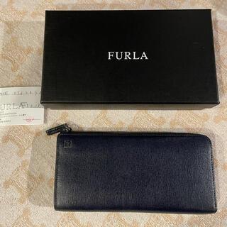 フルラ(Furla)の美品 フルラ   FURLA L字ファスナー ジップ 長財布 ウォレット(財布)