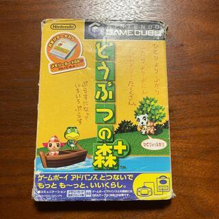 ニンテンドーゲームキューブ(ニンテンドーゲームキューブ)のどうぶつの森プラス ゲームキューブ(家庭用ゲームソフト)