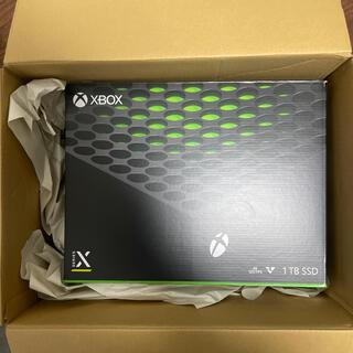 Xbox SeriesX 新品未使用 未開封(家庭用ゲーム機本体)