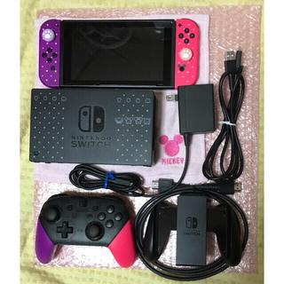 ニンテンドースイッチ(Nintendo Switch)の【バラ売り可】ディズニーツムツムフェスティバルセット proコントローラー 付(家庭用ゲーム機本体)