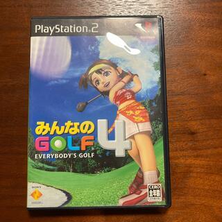 プレイステーション2(PlayStation2)のみんなのゴルフ4 プレステ(家庭用ゲームソフト)