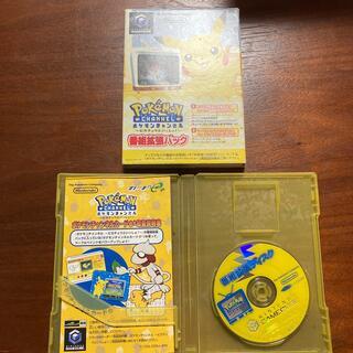 ニンテンドーゲームキューブ(ニンテンドーゲームキューブ)のポケモンチャンネル 番組拡張パック(家庭用ゲームソフト)
