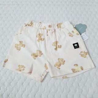 フタフタ(futafuta)の新品 futafuta ふたくま ショート パンツ オフホワイト 白 90(その他)