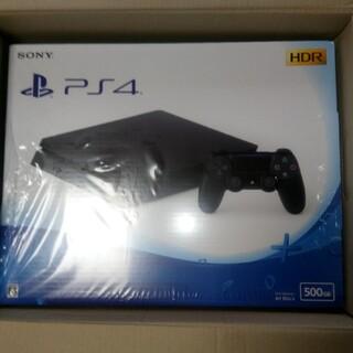 プレイステーション4(PlayStation4)のPS4 ブラック 500GB 新品未開封(家庭用ゲーム機本体)