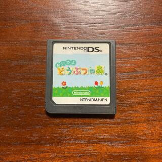 ニンテンドーDS(ニンテンドーDS)のニンテンドーDSおいでよどうぶつの森(携帯用ゲームソフト)