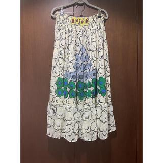 ツモリチサト(TSUMORI CHISATO)の☆新品☆ツモリチサト フラワーピラミッド スカート 19400→18500(ロングスカート)