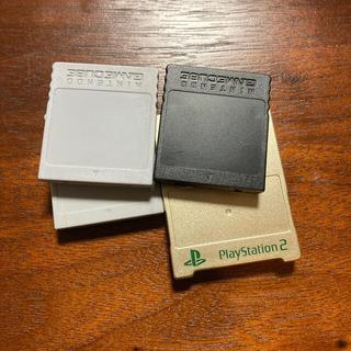 ニンテンドーゲームキューブ(ニンテンドーゲームキューブ)のメモリーカード ゲームキューブ プレステ2(その他)