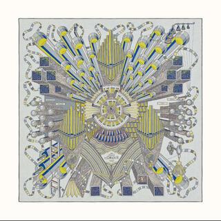 エルメス(Hermes)のちくぷぅ様ご専用 エルメス カシミアシルク140  フェルマータ(ストール/パシュミナ)