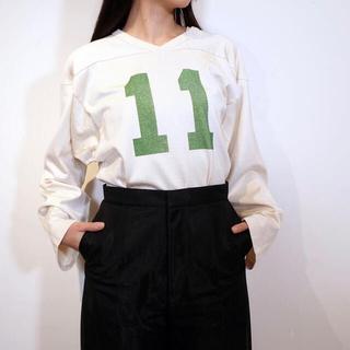 フィーニー(PHEENY)のPHEENY 21SS 値下げ フットボールロングスリーブTシャツ(Tシャツ(長袖/七分))