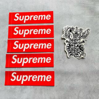 シュプリーム(Supreme)のsupreme シュプリーム ステッカー    セット ボックスロゴ カウズ(ノベルティグッズ)