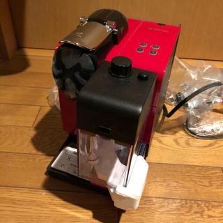 ネスレ(Nestle)のネスプレッソ コーヒーメーカー ラティシマ・プラス レッド F411RE(エスプレッソマシン)
