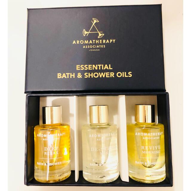 AROMATHERAPY ASSOCIATES(アロマセラピーアソシエイツ)のアロマセラピーアソシエイツ バス&シャワーオイル 9ml×3 コスメ/美容のボディケア(入浴剤/バスソルト)の商品写真