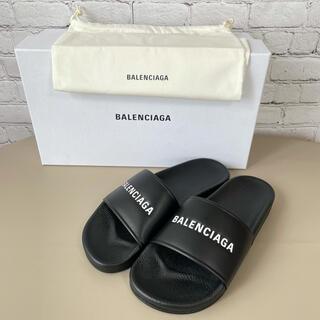 Balenciaga - 【新品未使用】BALENCIAGA バレンシアガ サンダル ブラック 箱付き