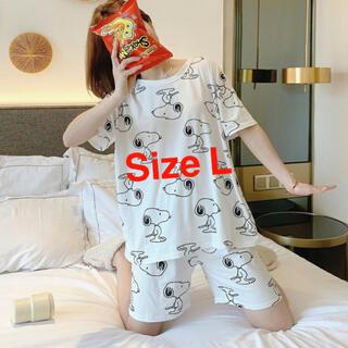 スヌーピー(SNOOPY)の2021年最新版 パジャマ ルームウエア 可愛い スヌーピ SizeL(パジャマ)