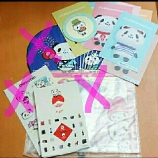 ラクテン(Rakuten)のお買いものパンダグッズ 豪華8点セット まとめ(キャラクターグッズ)