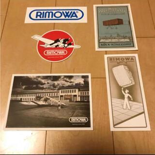 RIMOWA - RIMOWA リモワ ステッカーセット 新品未使用