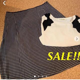KEITH - 【美品】大きいサイズ KEITH 花柄スカート ☺︎シビラ.23区お好きな方に
