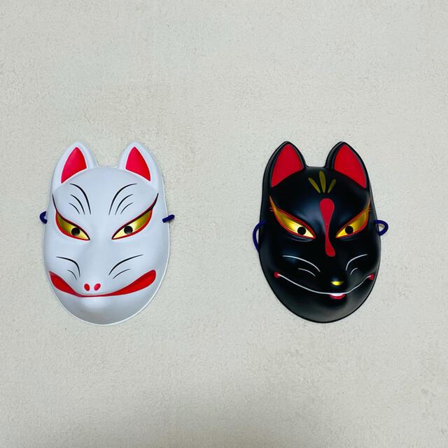 キツネのお面 エンタメ/ホビーのコスプレ(小道具)の商品写真