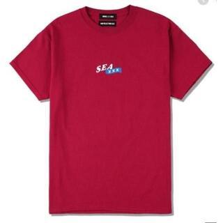 WIND AND SEA XXX Tシャツ BURGUNDY Lサイズ(Tシャツ/カットソー(半袖/袖なし))