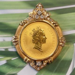 エリザベス 金貨 1994(ネックレス)