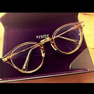 アヤメ(Ayame)のayame クリアフレーム メガネ アイウェア GENERALジェネラル LBR(サングラス/メガネ)