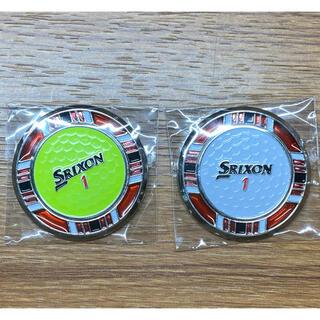 スリクソン(Srixon)の【新品】SRIXON スリクソン チップマーカー2個セット(ゴルフ)