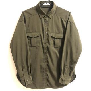 イーハイフンワールドギャラリー(E hyphen world gallery)のカーキシャツ(シャツ/ブラウス(長袖/七分))