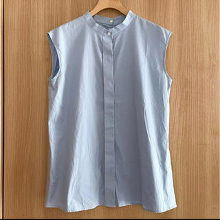 デミルクスビームス(Demi-Luxe BEAMS)のデミルクスビームス♡ノースリーブブラウス38(シャツ/ブラウス(半袖/袖なし))