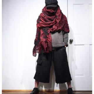 ヨウジヤマモト(Yohji Yamamoto)のbiek ver stappen  ストール 極美品 yohjiyamamoto(ストール)