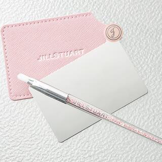 ジルスチュアート(JILLSTUART)のモア 付録 カードミラー ブラシ セット(ブラシ・チップ)
