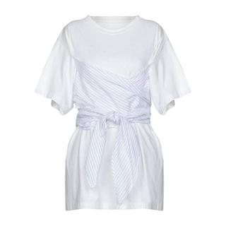 エムエムシックス(MM6)のmm6 デザインTシャツ(Tシャツ/カットソー(半袖/袖なし))
