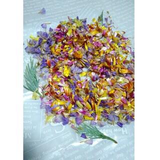 約2.5g ドライフラワー 花材 材料パーツ 花びら 花がら(各種パーツ)