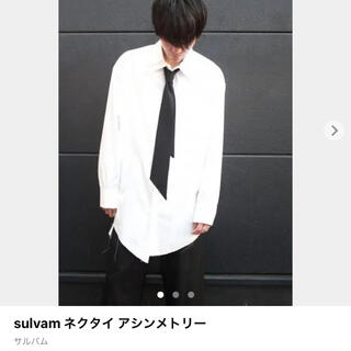 ヨウジヤマモト(Yohji Yamamoto)のsulvam ネクタイ (ネクタイ)