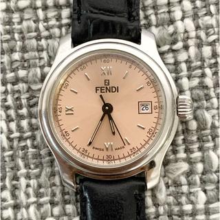 FENDI - 【美品】FENDI フェンディ 時計 210L レディース ピンク