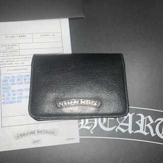 Chrome Hearts - CHROME HEARTS CARD CASE 3PKT WD V1 新品未使用